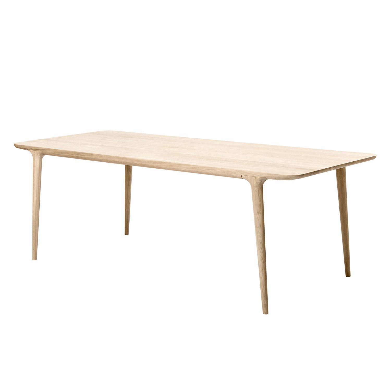 Esstisch eiche sägerau massiv  Gazzda Tisch - Tische online kaufen | HomeDeco.de
