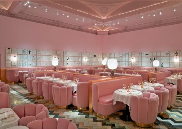 einzigartiges restaurant interior